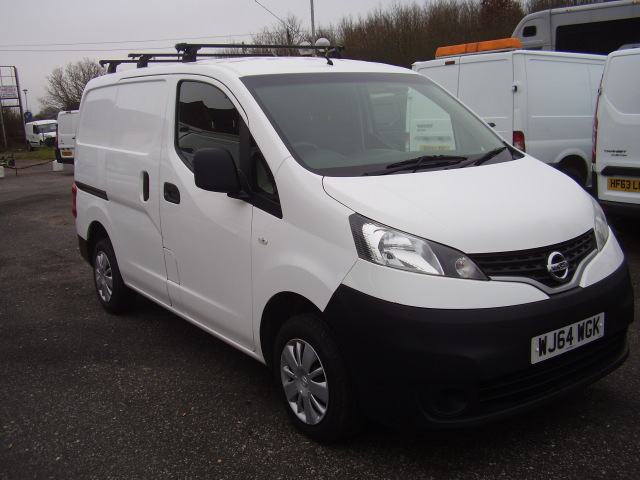 2014(64) NISSAN NV200 ACENTA DCi £5,950.00 twin side loading doors, reversing camera