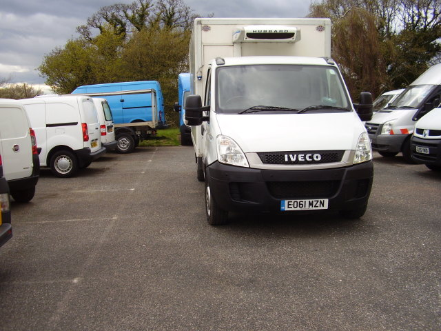 2011 (61)  IVECO DAILY 35S11 FRIDGE FREEZER £5,250.00 AUTOMATIC, 104,000 miles, 3 months warranty