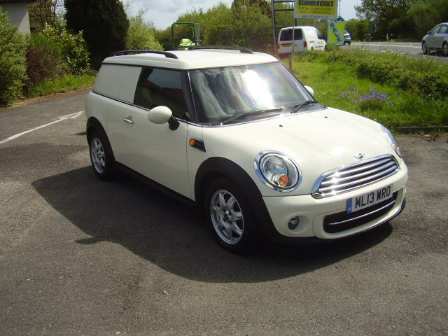 2013 MINI CLUBVAN COOPER D £5,050.00 1598cc, 6 speed