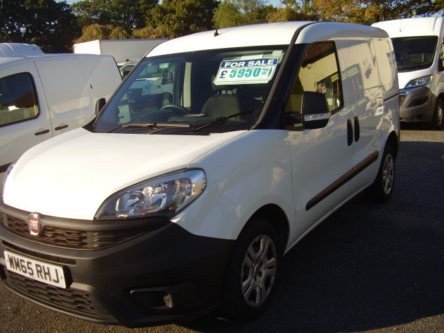 2015(65) FIAT DOBLO 90 16V MULTIJET £4,950.00 PROFESSIONAL (NEW SHAPE)