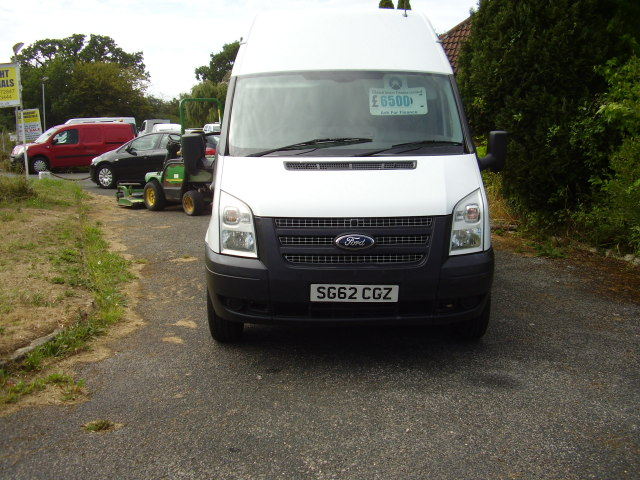 2012(62) TRANSIT T350 100 LWB HI-ROOF £6,500.00 2198cc 6 speed
