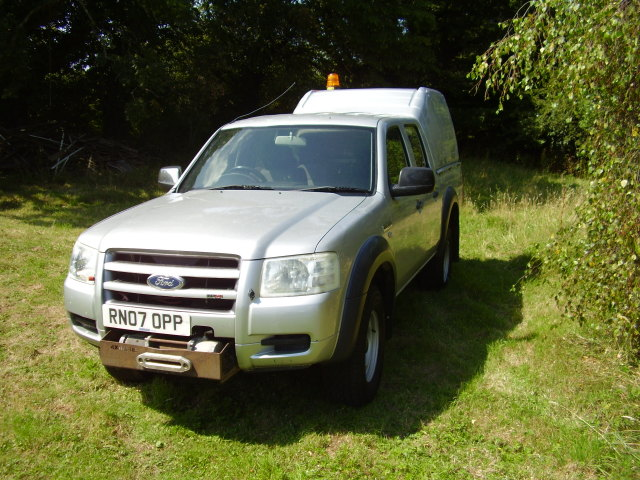 07 FORD RANGER DC 4x4 £4,250.00 DOUBLE CAB 2.5 TD