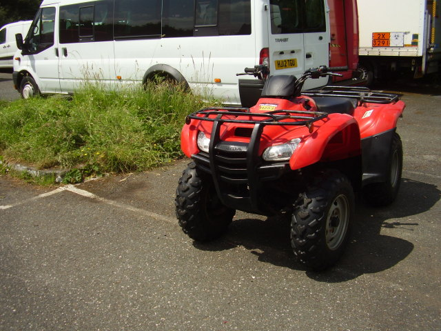 2012 HONDA FOURTRAX 420 QUAD BIKE £3,250.00 4x4 5 speed