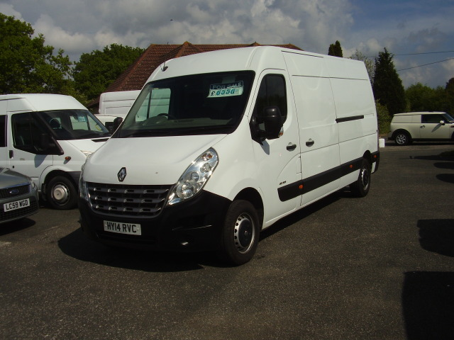 2014 RENAULT MASTER LM35 DCi 125 £6,550.00 2299cc 3500kg gross