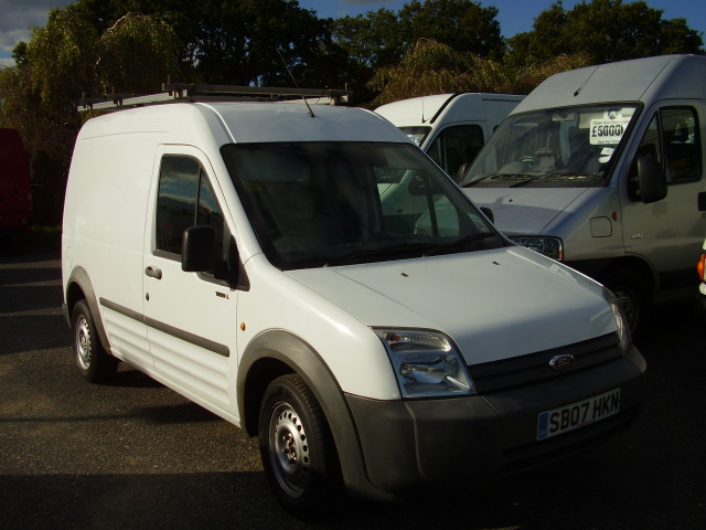 07 FORD TRANSIT CONNECT £4,350.00 T230 L90 LWB