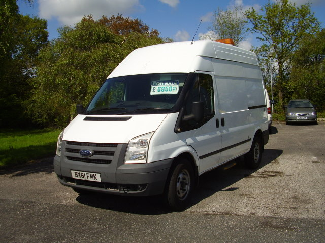 11(61) TRANSIT 100 T350M  £6,950.00 MOBILE WORKSHOP